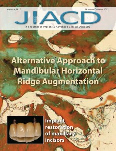 Alternative Approach to Mandibular Horizontal Ridge Augmentation