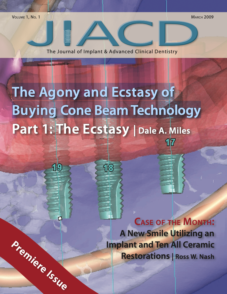 The Agony and Ecstasy of Buying Cone Beam Technology